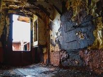 Ruinieren Sie gardar Ba 64 am patreksfjoerdur in Island Lizenzfreie Stockfotografie