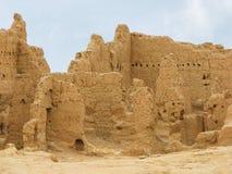 Ruiniert alte Stadt von Jiaohe in China lizenzfreie stockbilder
