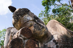 Ruiniert Buddha-Bild Lizenzfreies Stockfoto