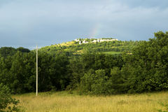 Ruiniert Regenbogen Lizenzfreies Stockbild