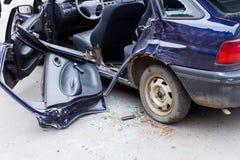 Ruinierte Autonahaufnahme Lizenzfreie Stockfotografie