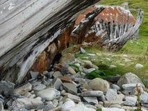 Ruinierte Bootsskulptur Lizenzfreies Stockbild