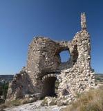 Ruinierte Festung Stockbild