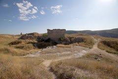 Ruinierte Festung Stockfoto