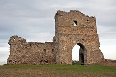 Ruinierte Gatter des Kosakenschlosses Lizenzfreies Stockfoto