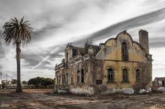 Ruinierte Gebäude Stockfoto