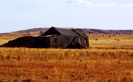 Ruinierte Halle nahe Yunta Stockfotos