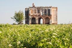 Ruinierte Hausmauern Stockbilder