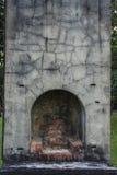 Ruinierte Kamine Stockfotos