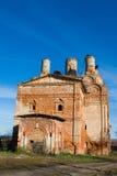 Ruinierte Kirche Stockbild