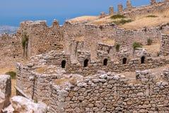 Ruinierte Wände der Festung Lizenzfreie Stockfotos