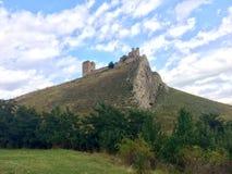 Ruinierte Zitadelle Stockbild