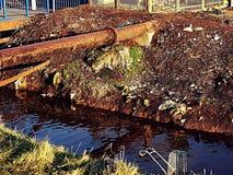 Ruinierter Fluss lizenzfreie stockbilder