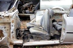 Ruiniertes Auto Lizenzfreie Stockbilder