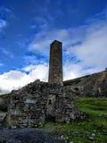 Ruiniertes Bergwerkgebäude Lizenzfreies Stockfoto