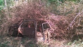 Ruiniertes Fahrzeug Lizenzfreie Stockfotos