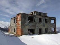 Ruiniertes Gebäude Stockbild