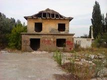 Ruiniertes Gebäude Lizenzfreies Stockbild