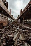 Ruiniertes Gebäude - Cleveland, Ohio stockbilder