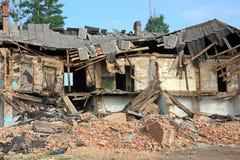Ruiniertes Haus lizenzfreies stockfoto