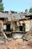 Ruiniertes Haus stockfoto
