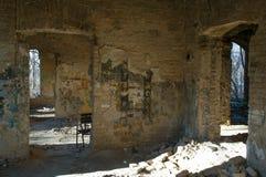 Ruiniertes Hausdetail Stockbild