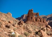 Ruiniertes Marokko Kasbah stockfotos