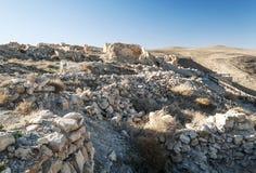 Ruiniertes Schloss Shobak Lizenzfreie Stockfotografie