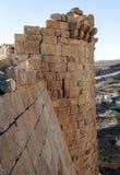 Ruiniertes Schloss Shobak Stockfotos