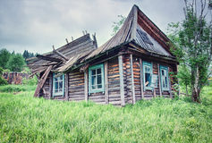 Ruinous country house Royalty Free Stock Photography