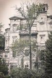 Ruinous house in Berlin Kreuzberg Royalty Free Stock Photography