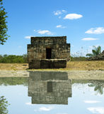 Ruins. A photo of some ancient ruins with a reflection Royalty Free Stock Image