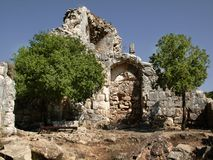 Ruins. Of monfor Stock Photography