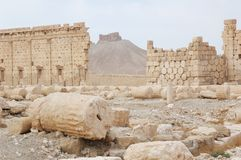 Ruins of the 2nd century AD Royalty Free Stock Photo