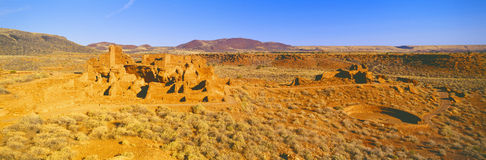 Ruins of 900 year old Hopi village, Royalty Free Stock Photography