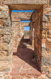 Ruins of abandon Kanyaka homestead. South Australia Royalty Free Stock Photo