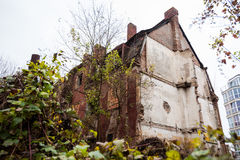 Ruins of an abandoned building Royalty Free Stock Photo