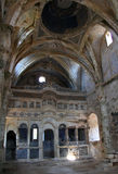 Ruins of abandoned church in Kayakoy, Turkey Royalty Free Stock Photo