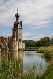 Ruins of the abandoned Havre castle. Belgium Royalty Free Stock Image