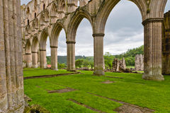 Ruins of an Abbey in England. Stock Photos