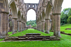 Ruins of an Abbey in England. Royalty Free Stock Images