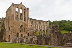 Ruins of an Abbey in England. Royalty Free Stock Photos