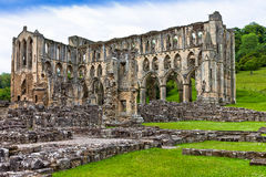 Ruins of an Abbey in England. Royalty Free Stock Photo