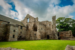 Ruins of Aberdour Castle, Scotland Royalty Free Stock Photography