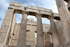 Ruins of Acropolis Royalty Free Stock Image