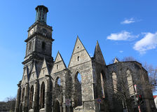 Ruins of Aegidienkirche Church of Hannover Royalty Free Stock Photos