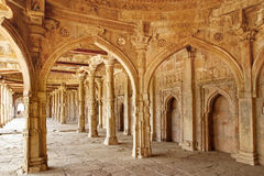 Ruins of Afghan architecture royalty free stock photos