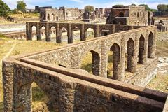 Ruins of Afghan architecture. India Royalty Free Stock Image