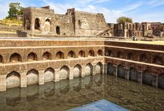 Ruins of Afghan architecture. India Stock Photos