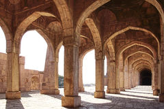 Ruins of Afghan architecture. India Stock Images